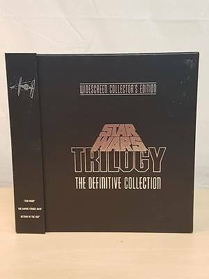 STAR WARS TRILOGY WIDESCREEN COLLECTOR'S EDITION LASER DISC SET (ash23834)^*