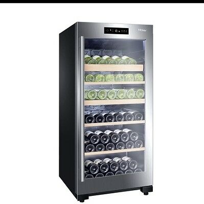 Haier 92 Bottle Dual Control Wine Cooler WS92GDBI