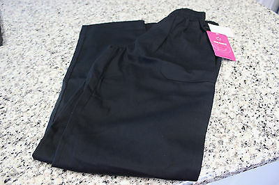 Womens Chef Pants Five Star White Swan NEW XS