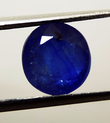 5.40  Ct Certified Natural Blue Sapphire / Nelam Loose Oval Gemstone  TY