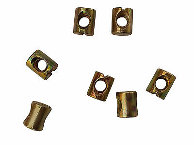 Brand New Replacement HIGH Quality M6 & M8 Bed Bolt Barrel Nuts