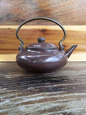 Antique Chinese Yixing Pottery Clay Teapot Signed Rare
