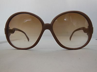 VINTAGE 'OVERSIZE'  SUNGLASSES 1970's -  (MADE IN W. GERMANY)
