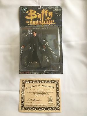 "Buffy The Vampire Slayer 6"" Angel Signed Dated 1999"
