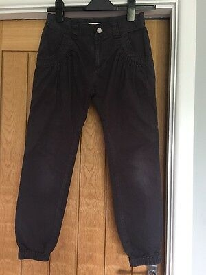 Girls GREY TROUSERS AGED 11 By Blue Zoo