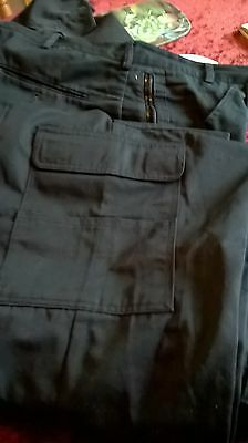 Genuine Ex Police cargo trousers in good condition 1 pair size 32 x 28