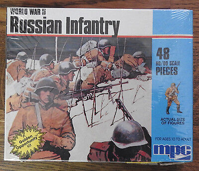 MPC AIRFIX WW2 RUSSIAN INFANTRY OO/HO Scale