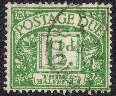 D37.  1.5d.  green.   USED