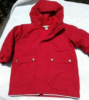 Toddler clothing 3t two piece coat jacket GROW-A-LONGS LANDS END KIDS