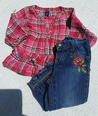 Infant baby girls clothing 6-12 months outfit set GAP