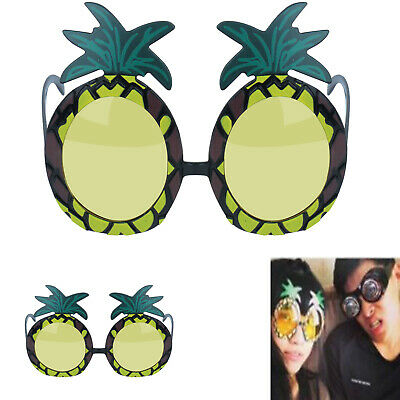 Fancy Pineapple Glasses Hula Hawaiian Party Fancy Dress Hen/Stag Do' Adult Specs