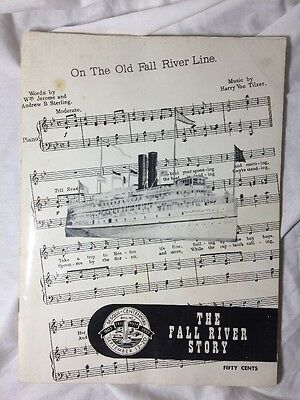 The Fall River Story 1803 - 1953 Photos Booklet Anniversary Advertising Magazine