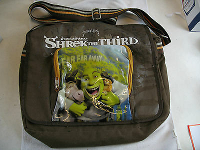 Shrek the Third carry bag with adjustable strap 2007