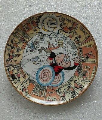 Billy Whizz / The Official Beano Plate Collection .
