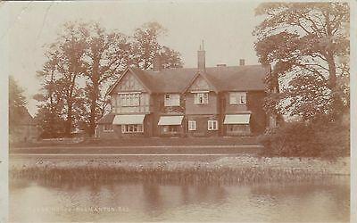 Manor House, Country House, Normanton, Leicestershire. Rp, 1905.