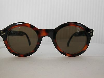 Stylish 'round Lens' Ladies Sunglasses - Made In Italy