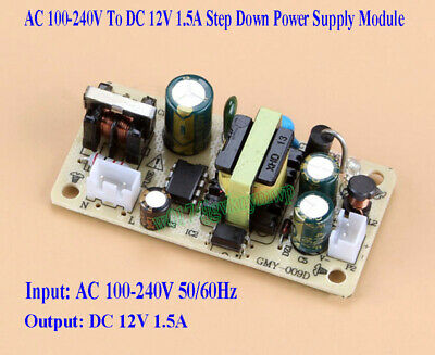 AC 100-240V To DC 12V 1.5A Buck Converter Isolated Step Down Power Supply Module