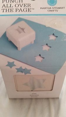 Martha Stewart Punch All Over The Page - Star