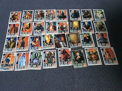 Doctor Who Alien Attax Card Bundle