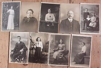 Rp Pc X9 Edwardian By J Harrison Imperial Studio Pendle St Nelson Lancs
