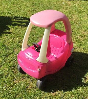 little tikes cozy coupe Girls Pink Ride On car