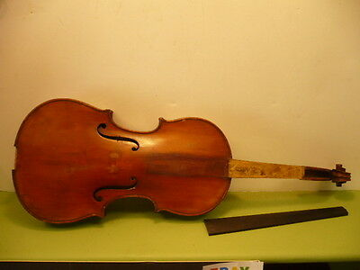 Antique Violin For Restoration      Lot #5