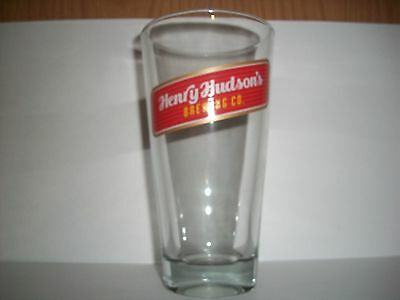 Henry Hudson's Brewing Co.- Beer Glass