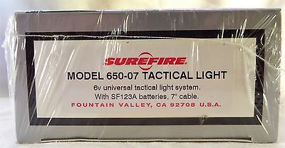 Surefire 650-07 Tactical Light. Brand New And Factory Sealed. Free P+P.