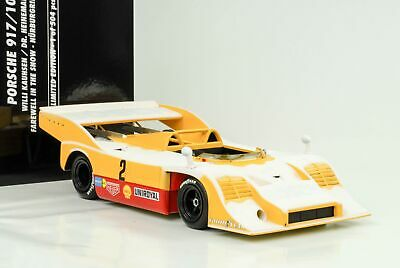 1973 Porsche 917/10 #2 Farewell in the Snow Nürburgring Kauhsen 1:18 Minichamps