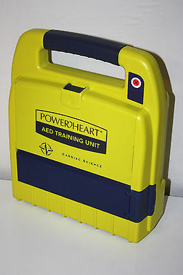 Cardiac Science Powerheart AED Training Unit with Pad, 9163R, Trainer