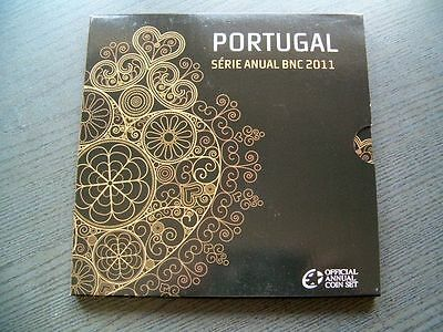 KMS Euro Portugal 2011 - 1 cent - 2 Euro - orig. Folder