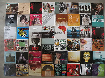 Lot de 123 albums CD  Pop Rock et autres