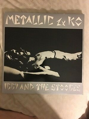 "Iggy And The Stooges:Metallic KO 2-12"" LP"
