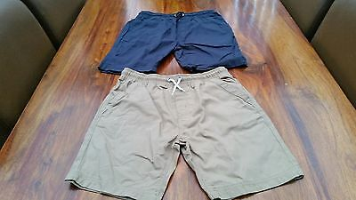 Boys GEORGE elasticated shorts age 12yrs(x2)