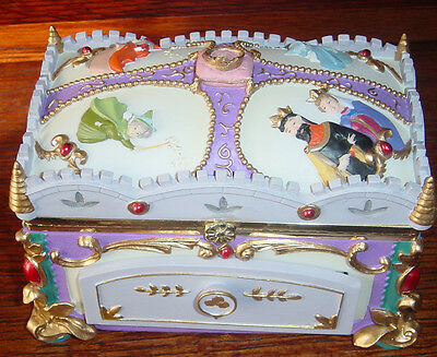 Disney Aurora Sleeping Beauty Musical  Jewelry Box