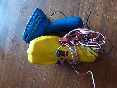 2 VINTAGE 1970's '' SCALEXTRIC ''  ELECTRIC WIRED HAND CONTROLLERS