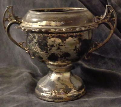 Hallmarked Vintage William A. Rogers Footed Spooner - NO LID - Silverplate - #58