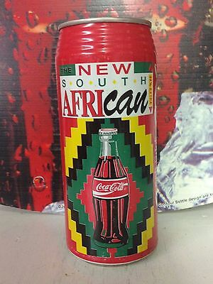 """COCA COLA  Can """"The New South Africacan can""""  Beautiful Graphics"""