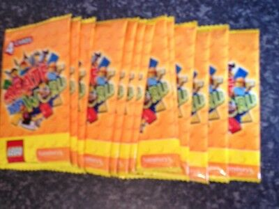 13 Packs Of 4 Cards Lego Create The World By Sainsbury's