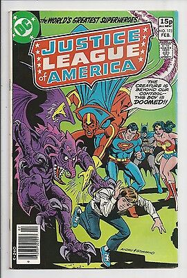 Justice League Of America #175 : Fine/Very Fine 7.0 : UK Pence Variant