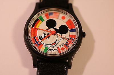 LORUS - Quartz wrist watch - DISNEY  MICKEY MOUSE  EPCOT CENTER V511 - 8190 T