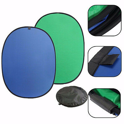 Green/Blue 2-In-1 Background Panel Popup Backdrop Reversible