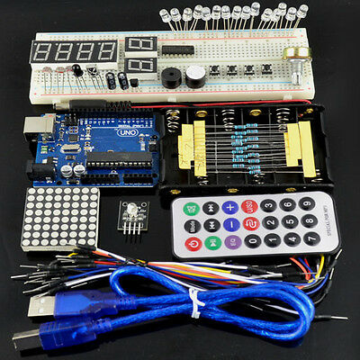 Geekcreit Basic Starter Learning Kit Uno R3 For Arduino
