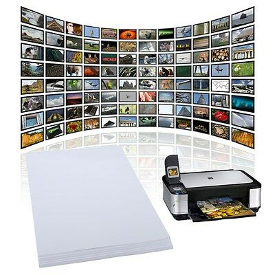 20 Sheets X A4 Gloss Glossy Photo Paper For Inkjet Printer