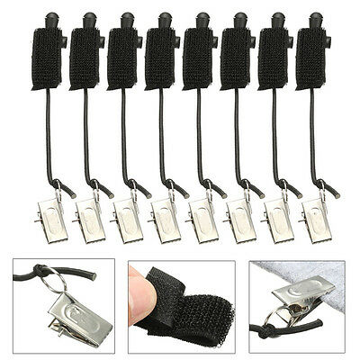 8Pcs Background Support Muslin Holder Clamp Clip For Screen