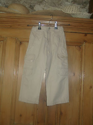 Dkny Boys Beige Casual Style Cotton Trousers Age 3  Years