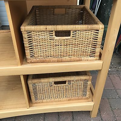 Baby Changing Unit With Baskets