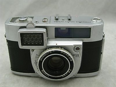 Minolta Auto Wide with 35mm f2.8 Rokkor Lens 35mm Camera
