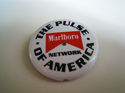 Pin Anstecker Marlboro The Pulse of America Blinkfunktion with flashing function