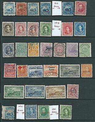 Costa Rica Nice Lot Earlies Mh Used Incl Guanacaste